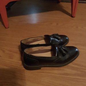 Bert Pulitzer tassel loafer black size 9